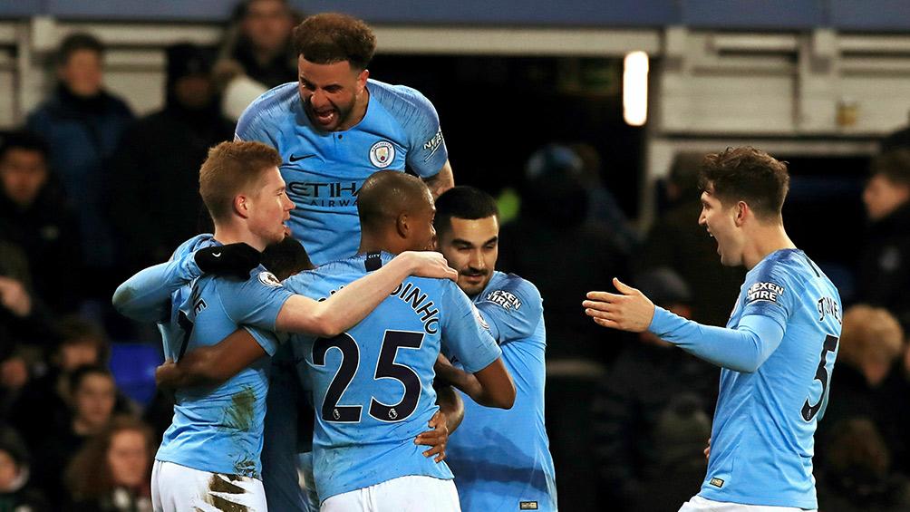 Everton vs Manchester City: goles, resumen y videos