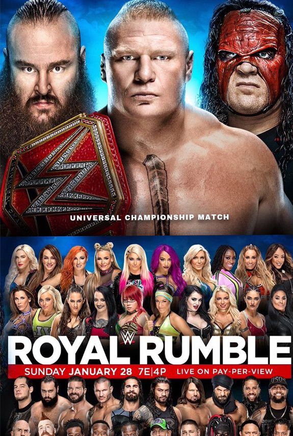 WWE abre el año con Royal Rumble