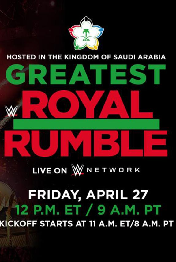 WWE realiza la Royal Rumble más grande
