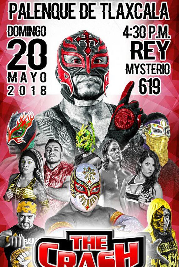 Rey Mysterio 'invade' Tlaxcala