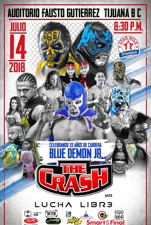 Blue Demon Jr. festejará 33 años de carrera