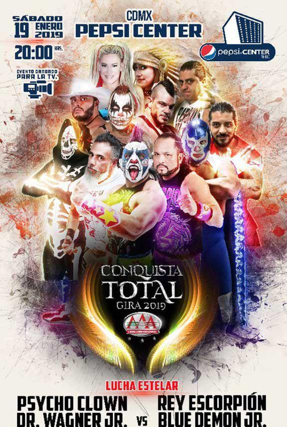 Triple A inicia la gira por la Conquista Total