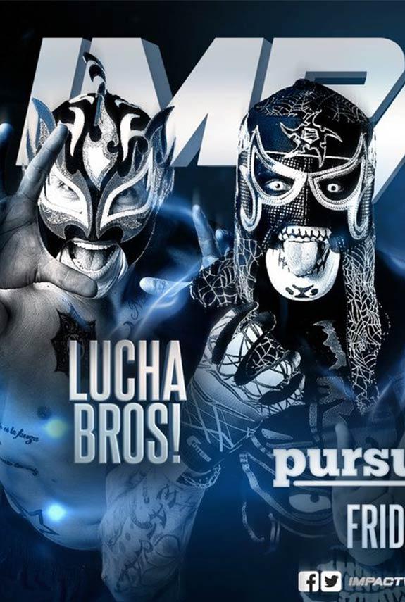 Lucha Brothers regresan a Impact