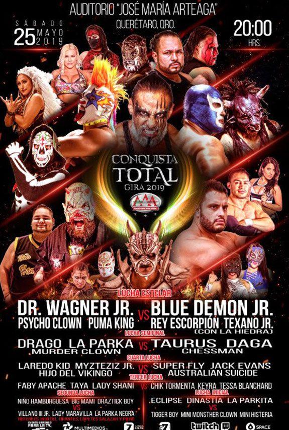 Continúa rivalidad entre Blue Demon Jr. y Dr. Wagner Jr.