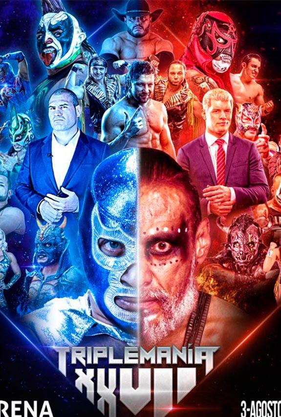 Máscara vs Cabellera en Triplemanía XXVII