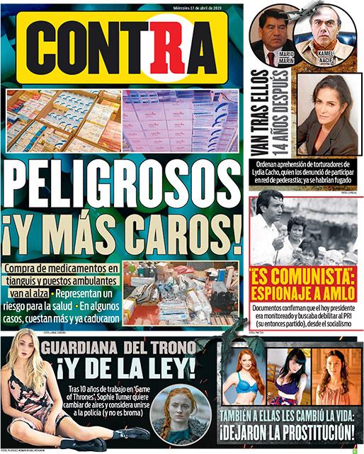 Portada Contra 17-04-2019