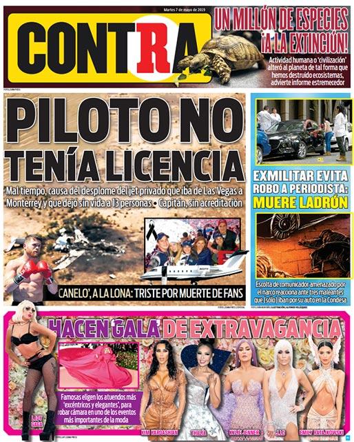 Portada Contra 07-05-2019