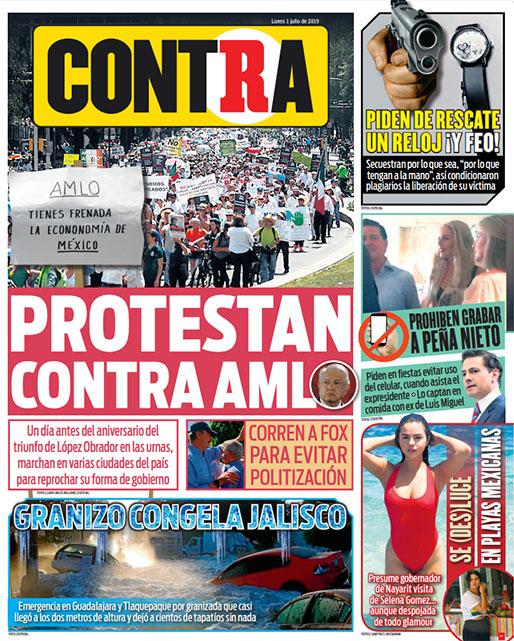 Portada Contra 01-07-2019