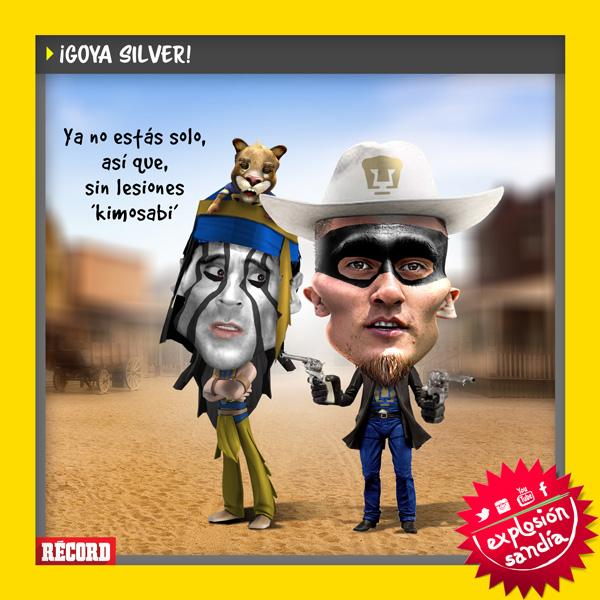 ¡Goya silver!