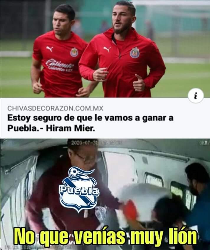 Chivas: Los mejores memes tras la derrota ante Puebla