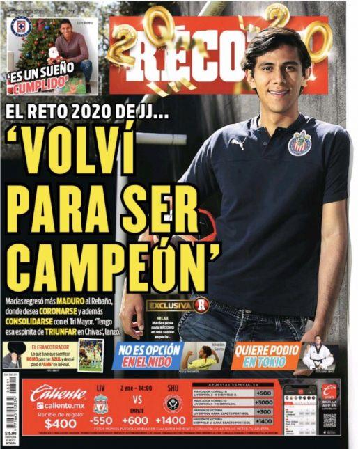 JJ Macías regresó más maduro a Chivas