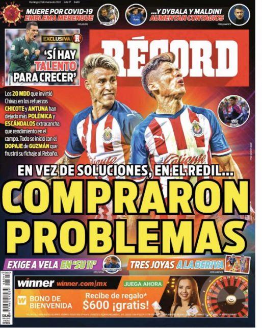 Chivas compró problemas