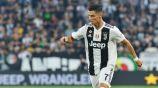 Cristiano, en un partido de la Juventus