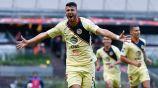 Guido celebra un gol con las Águilas