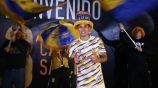 Carlos Salcedo, en su presentación como jugador de Tigres