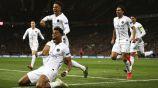 PSG celebra su anotación frente al Manchester United