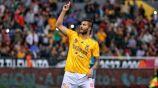André-Pierre Gignac celebra una anotación en Liga MX