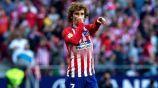 Antoine Griezmann festeja un gol con el Atlético de Madrid