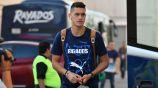 César Montes previo a un juego con Rayados de Monterrey
