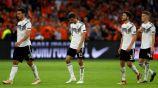 Seleccionados de Alemania tras un juego vs Holanda