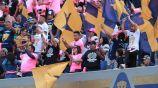 Afición de los Pumas durante un juego frente a León