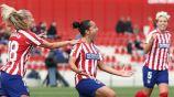Charlyn Corral con Atlético de Madrid Femenil