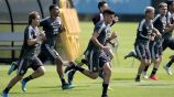 Jugadores del Tri realizan práctica previo a duelo contra Panamá