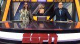 Cristina Alexander durante un programa de ESPN