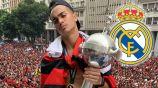 Reinier presume el título de la Copa Libertadores