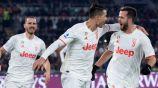 Juventus y Cristiano Ronaldo vencieron a la Roma