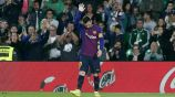 Messi, en un partido del Barcelona