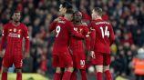 Liverpool celebra una victoria en la Premier