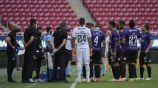Jugadores de Mazatlán en un partido de Copa por México