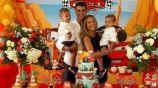 Álvaro Morata le regaló dos cuatrimotos de juguete a sus hijos