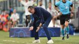 Maurizio Sarri, exentrenador de la Juventus de Turín, en lamento