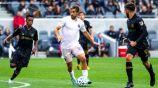 Rodolfo Pizarro durante un partido con Inter de Miami
