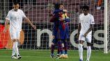 Barcelona: Goleó al Ferencvarosi en su debut en la presente edición de Champions League