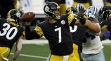 Big Ben en práctica con Steelers