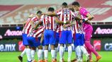Jugadores de Chivas previo a la Ida de Semis contra León