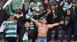 Afición de Santos alentando a sus jugadores