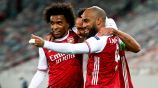 Europa League: Aubameyang dio agónico triunfo al Arsenal ante Benfica