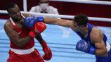 Youness Baalla en su combate contra ante David Nyika