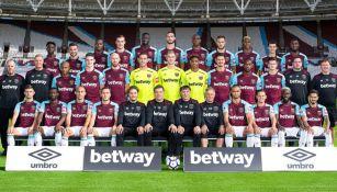 Foto oficial del West Ham para la campaña 2017-18