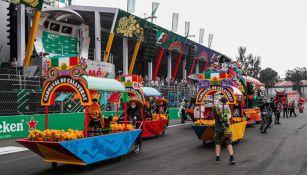 El color de Día de Muertos se hizo presente en el GP