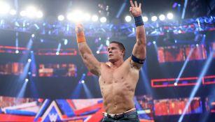 John Cena en una lucha en SummerSlam 2017