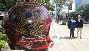 Arturo Olivé y Mario Soto, inauguran la exposición 'Ball Parade'