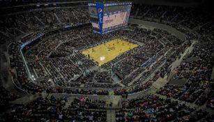 La Arena Ciudad de México luce pletórica en el juego de la NBA
