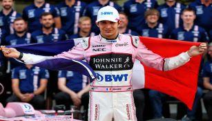 Esteban Ocon en el Gran Premio de México