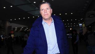 Ricardo Peláez antes de partir a Guadalajara