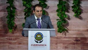 Cuauhtémoc Blanco, en su segundo informe de gobierno